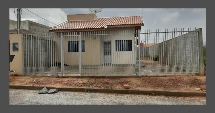 CASA Á VENDA NO RESIDENCIAL FLAMBOYANT (MCMV)